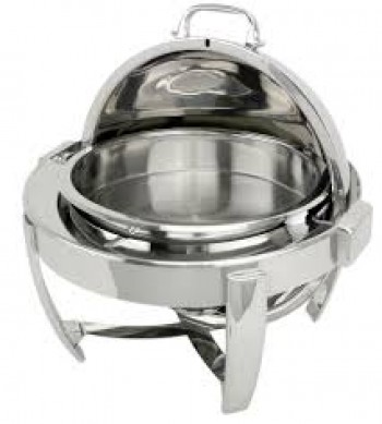 CHAFING DISH ROUND ROLL